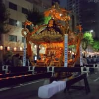 新宿熊野神社の町内神輿を見てきた