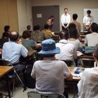 日本軍「慰安婦」問題への暴言で、松井大阪市長に抗議と撤回を申し入れ(8月9日)