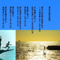 海辺の自由な時間