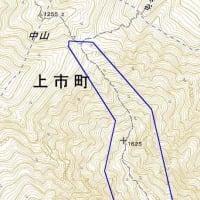 2019/11/27(水) 国土地理院の地図、登山道が修正された。