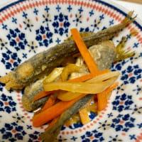 小鯵の南蛮漬けと、レンコンのきんぴら #きんぴら #レンコン #南蛮漬 #くまのレシピ #料理 #料理男子