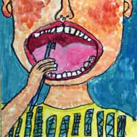 歯と口の健康コンクール ポスター特選に川合君(川原河小)榎本さん(名田小)嶋田君(日高中)標語は藤原さん(中津小)ら9点入選 〈2019年5月24日〉