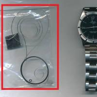 ロレックス(ROLEX) オイスター パーペチュアル デイト(Ref.15210)のオーバーホール・ゼンマイ交換・香箱芯交換・パッキン交換、内部部品の調整・全体仕上げ(磨き)