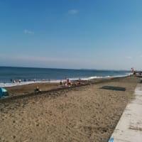 今日の一松海岸