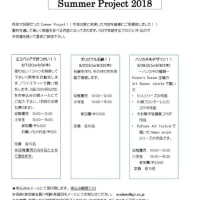 Summer Project 2018