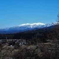 さらに北を見る、剱岳から富山湾まで(6)・・・富山市(旧大山町)新町・常願寺川西岸の高い崖上
