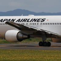 2020年6月20日:出雲空港(久しぶりのB767!)