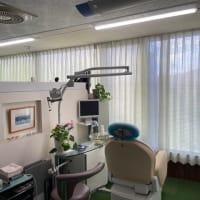 歯科医院 グリーンレースカーテン 施工例!