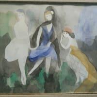 嵐山福田美術館(5)洋画 ローランサン、モネ、ピサロ、マティス