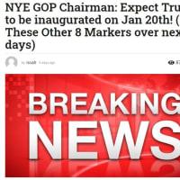今後、1月20日までに米国で起こる事に関するトランプ側の動き