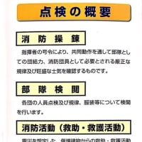 「世田谷区内消防団・合同点検」の報告