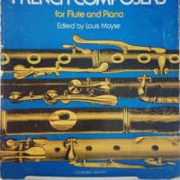 楽譜フレンチコンポーザー