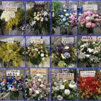 おめでとう!!!、沢山の背中を押した花たち!!