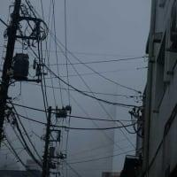 台風19号 直撃です …