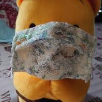 ふぶきの手作りマスク・・・裏は見せられません!