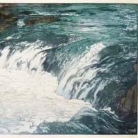 吉田博「光る海」