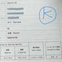 タイで日本語能力試験JLPT