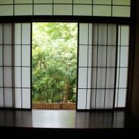 色んな風景~京都・瑠璃光院・障子~