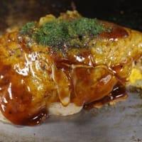 音戸のお好み焼きしんちゃんと中野水産の冷凍牡蠣フライ