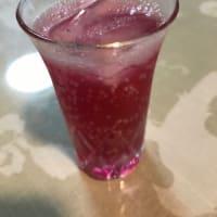 紫蘇シロップを作りました。