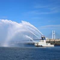 横浜スパークリングトワイライト 2015 放水デモンストレーション