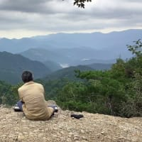 秋分の日「アクアリウス」@熊野古道 小雲取越『百閒ぐら』奉納演奏