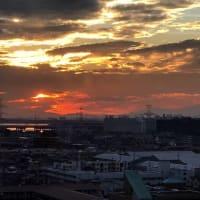 富士山 シルエット