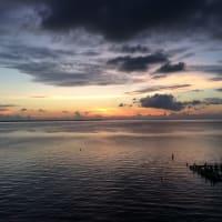 ベリーズ最後の日の日の出