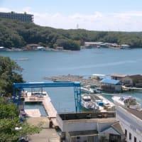 岬から垣間見える賢島