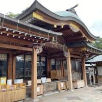 長崎の総氏神様、鎮西大社 諏訪神社へお参り。