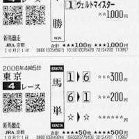 ヴェルトマイスター快勝!(土曜日の回顧)