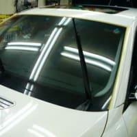雨天時のセーフティドライブにフロントガラスコーティングをお薦め致します!