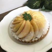 「桃のマスカルポーネタルト」