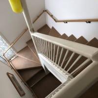 40年前の自分の造った階段室