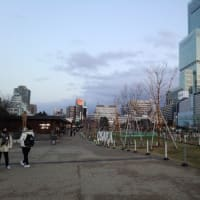大阪に緊急事態宣言再発出 =週末の新世界と天王寺公園「てんしば」の様子