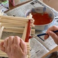 割り箸アート