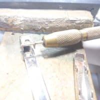 ルイビトンのネクタイピン 修理 バネ交換