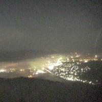 やや霞む霧の海