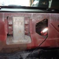 1973年 トランザム 455 トランク開かず修理