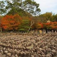 秋の京都 奥嵯峨を歩いてみませんか?化野念仏寺