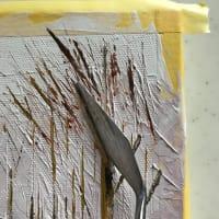 パレットナイフで描いてみました