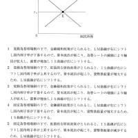 マンデル=フレミングモデル~特別区・マクロ・2021 No.26