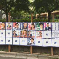 東京都民の方は都知事選挙に投票に行きましょう!