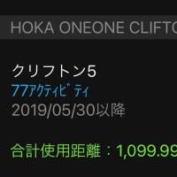続 引退(HOKKA CLIFTON 5)