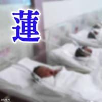 今年(2019年)子供の名前1位男の子は=「蓮」、女の子は=「凛」 2019年11月