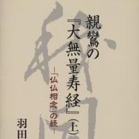 羽田信生著 親鸞の『大無量寿経』(上)
