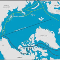ナイキ「北極海航路を利用しない」と宣言。