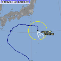 2020年台風14号