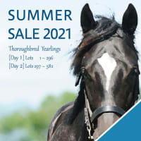 【サマーセール2021(Summer Sale、1歳)】の「上場馬名簿」が発行