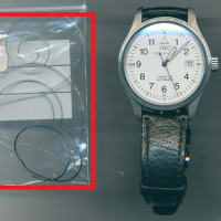IWC マーク15(Ref.3253) オーバーホール・ゼンマイ交換・香箱芯交換・パッキン交換を承らせて頂きました